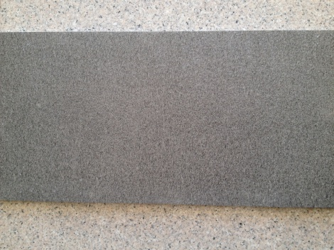 Diamond grey flamed granite tile