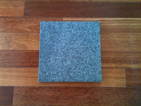 Diamond black flamed granite tile-Charcoal black colour