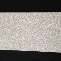 Rose cream flamed granite bullnose tread