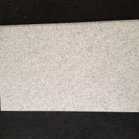 Beige cream flamed granite bullnose tread