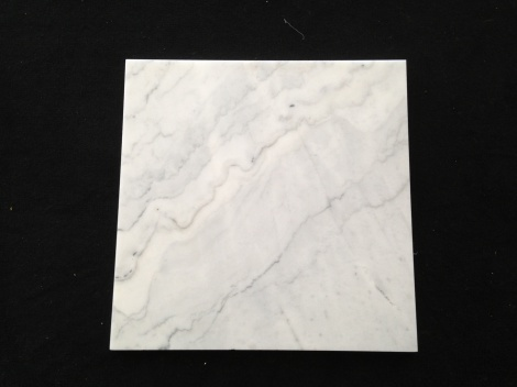 Carrara white marble  600x600x17mm