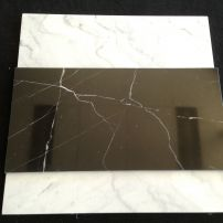 Nero Margiua black polished marble tile
