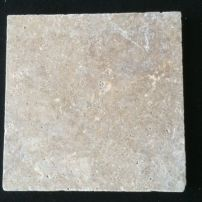 Classic Travertine stepping stone (406x406x30mm)