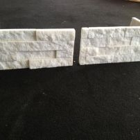 Fixed stack stone corners