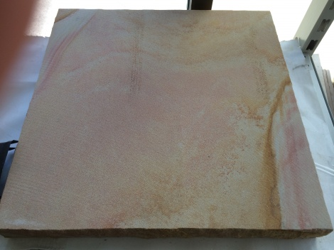 Sandstone capping