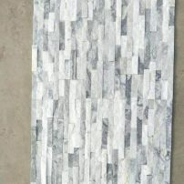 Silver White Stackstone 600x150mm