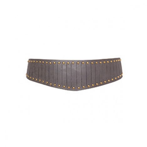 Studded V shape grecian belt