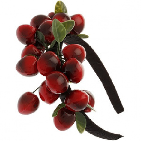 Cherries hairband