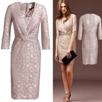 Lavender roses lace dress as worn by Princess