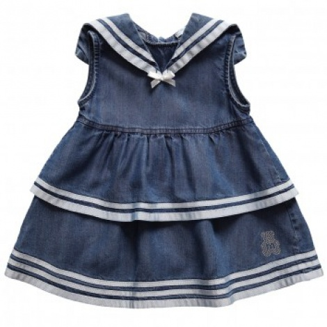 Vintage baby sailor dress