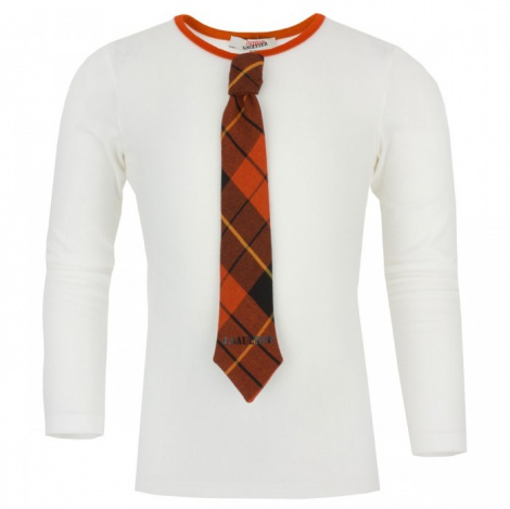 Statement Tshirt with attached tie