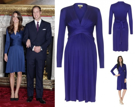 Princess Kate maternity/nursing dress