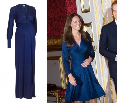 Long sleeve maternity/nursing gown (sold)