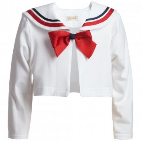 Sailor girl cardi