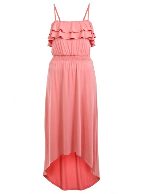 Graduated ruffle maxi as seen in Gossip Girl
