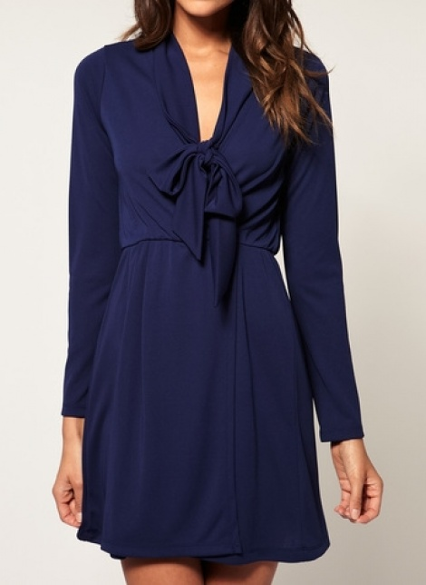 Babydoll wrap dress
