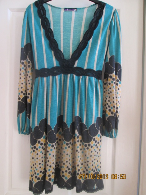 60s Pop Art cotton babydoll dress