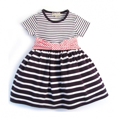 Baby Tshirt dress with pouffy skirt