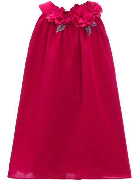 Baby flowergirl swing dress with headband
