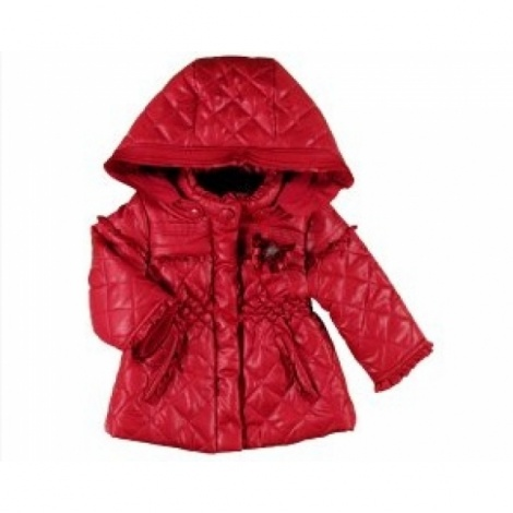 Baby 'Chanel' quilted puffa jacket