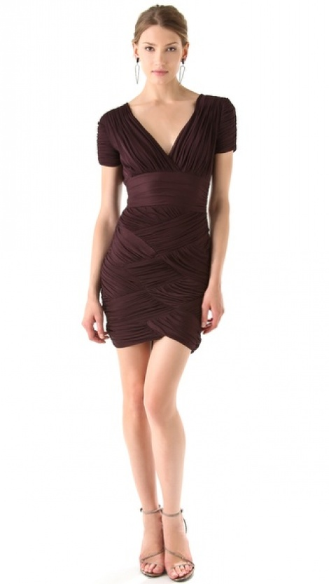 Mulberry bandage dress