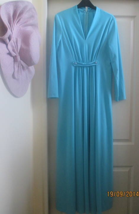Vintage long sleeve maxi