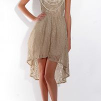 Coco pearls & lace dress
