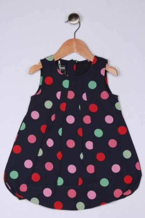 Puffball hem dress