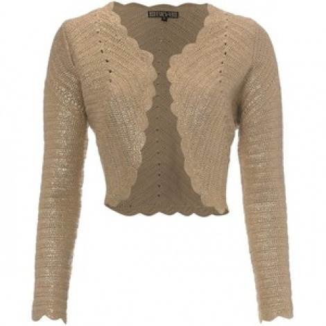 1960s opulent gold knit jacket