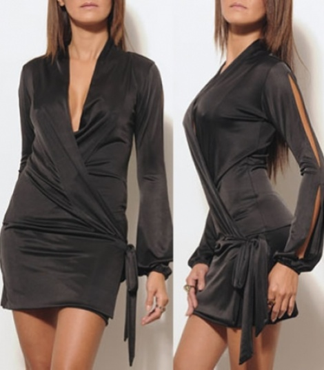 Drop waist wrap dress (SOLD)