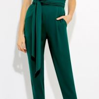 Origami bow corseted pantsuit (sold)