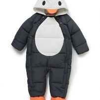 Baby penguin all-in-one