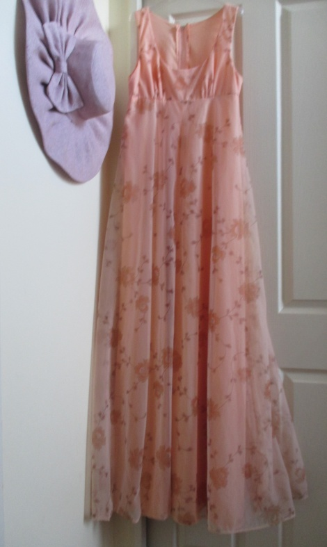 Vintage floaty empire gown