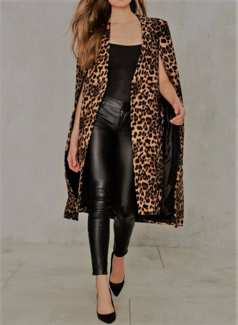 Superhero Cheetara cape coat
