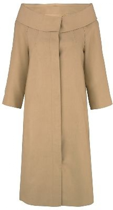 60s boatneck silk coat