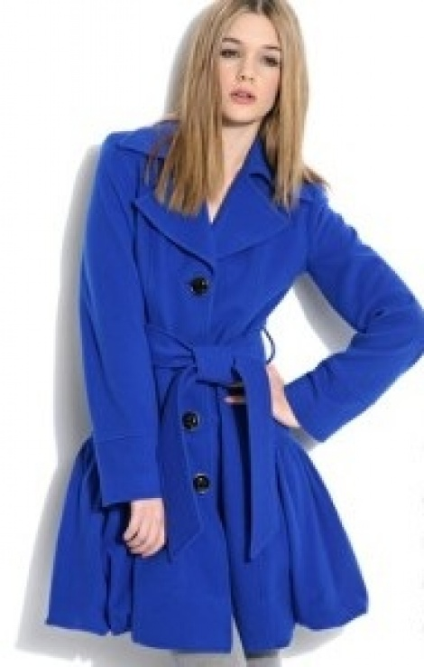 Cashmere bubble coat