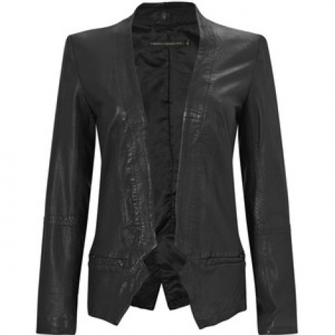 GirlBoss leather tux