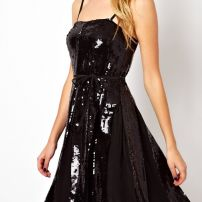 Sequin flared LBD