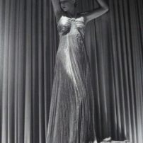 Vintage 1930s pleated gown