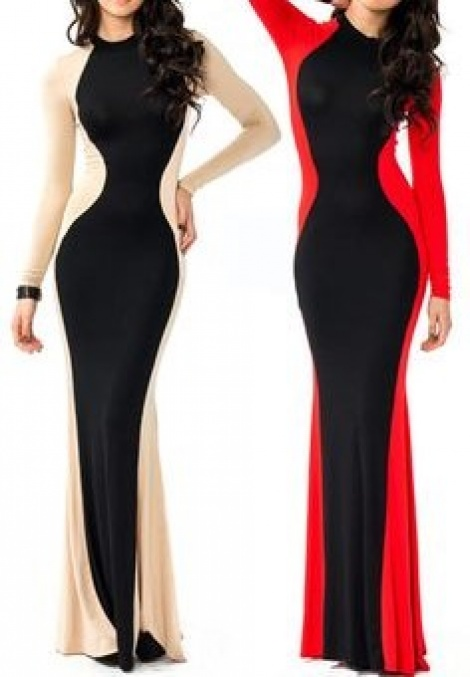 Miracle illusion panel gown
