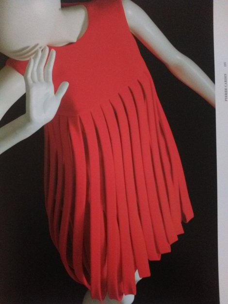 60s pleated minidress