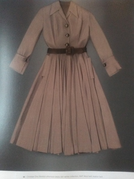 Original 1940s utility housedress