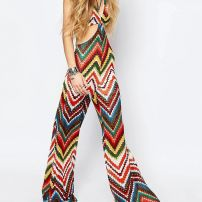 Summer Of Love crochet jumpsuit
