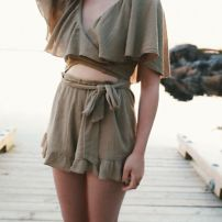 Cape cotton playsuit