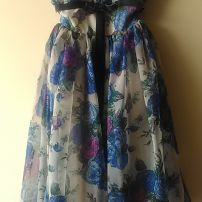 Original 1950s garden party dress