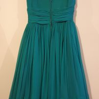 Original 1950s emerald dress