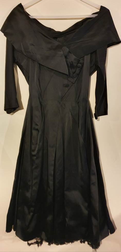Original 1950s off shoulder LBD
