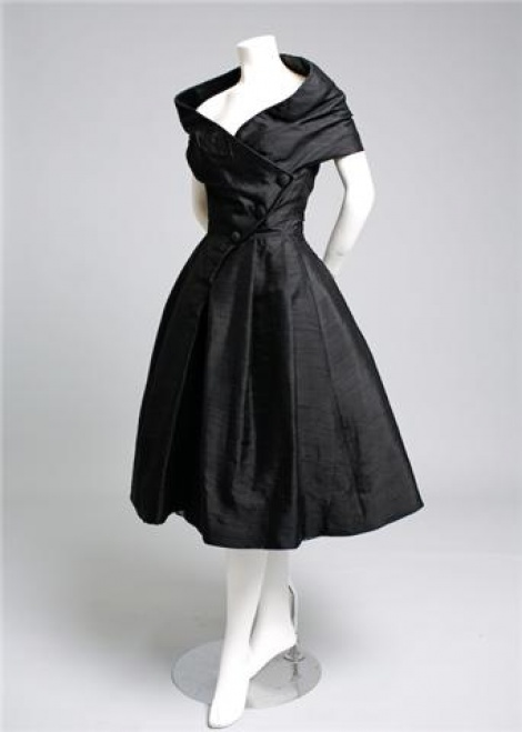 Iconic Dior New Look style LBD