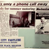 """Summer Motoring - Western Leader"""