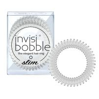 Invisibobble SLIM - The Elegant Hair Ring - Crystal Clear